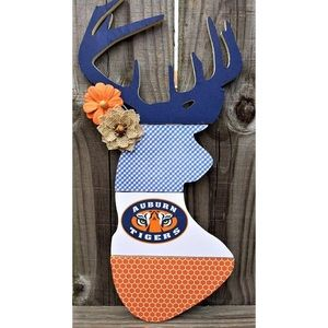 Auburn Deer 🦌 Head Wall Hanger